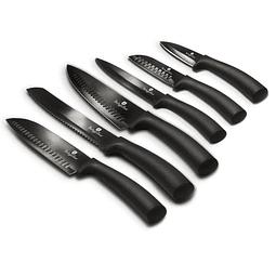 Cuchillos de Acero inoxidable Premium ( Set 6 unidades ).