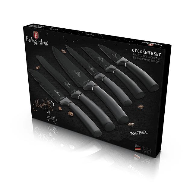 Cuchillos de Acero inoxidable MOONLIGHT ( Set 6 unidades )