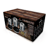 Batería de Cocina GOURMET de Acero inoxidable ( Set 10 unidades )