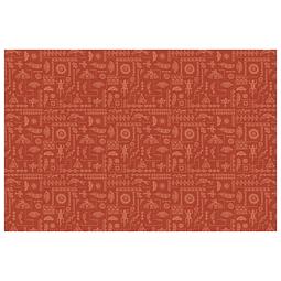 Mantel Egipcio Rojo