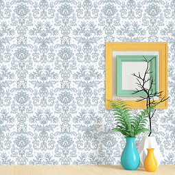 PAPEL MURAL FLORAL REGULAR