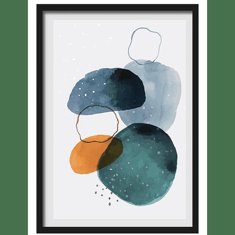 Cuadro Abstracto c'rculos