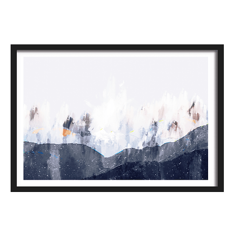Cuadro Abstracto naturaleza 2