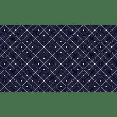 Mantel Cuadros Fondo Azul
