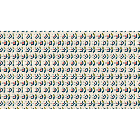 Mantel Flores en Orden