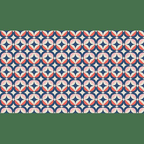 Mante Geométrico Estrellado