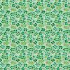 Mantel Lirios Fondo Verde