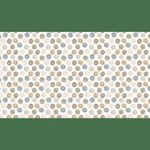 Mantel Motas de Hilo