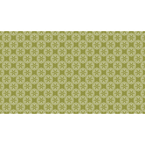 Mantel Flores Fontal Verde