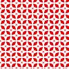 Camino de Mesa Geométrico Rojo
