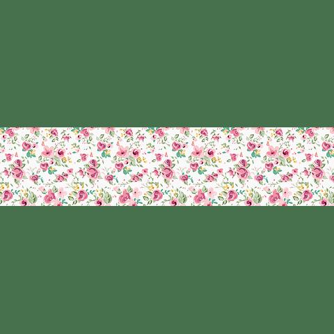 Camino de Mesa Flores Rosas