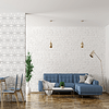 PAPEL MURAL SIMPLE WHITE