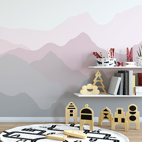 PAPEL MURAL KIDS MONTAINS