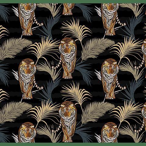 PAPEL MURAL TIGRES 3