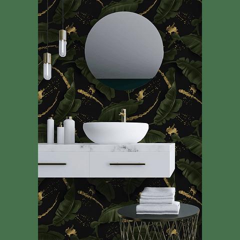 PAPEL MURAL RAMAS BATHROOM 2