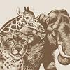 ANIMALES EN SEPIA