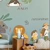 STICKERS AMIGOS DE JUNGLA