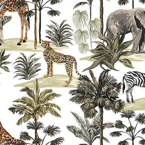 Cojín Selva Animal 2