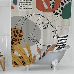 Cortina de Baño Pop Art 2