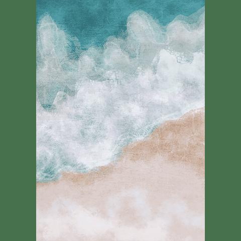 Cortina de Baño Orilla Playa