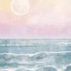 Cortina de Baño Sunset