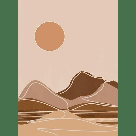 Cortina de Baño Dunes