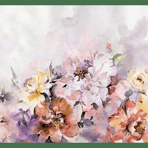 Cortina de Baño Garden-Flowers
