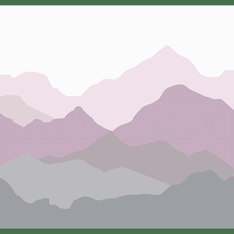 Cortina Baño Montañas