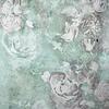Cortina Baño Green-Flowers-02