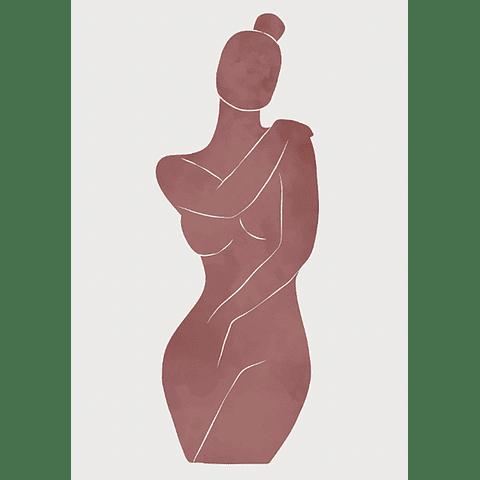 Cortina Baño Sombra Mujer 2