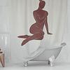 Cortina Baño Sombra Mujer 3
