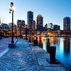 Fotomural Puerto de Boston