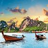 Fotomural Mar de Tailandia