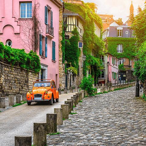 Fotomural Calles de Paris