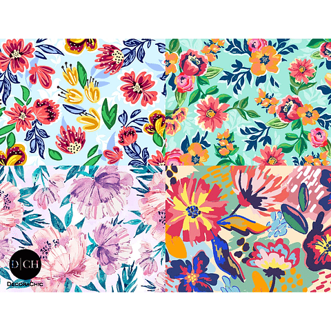 Individual Set Floral