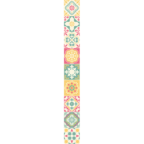 Cenefas Porto Pastel