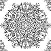 Individual para Colorear | Mandala 5