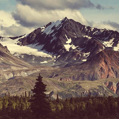 Fotomural Montañas Alaska