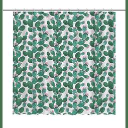 Cortina de Baño pequeños Cactus