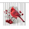 Cortina de Baño Pájaro Rojo