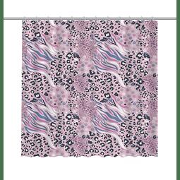 Cortina de Baño Animal Print