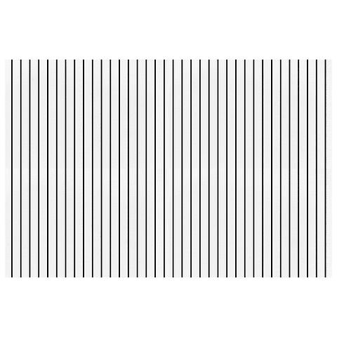 Mantel Líneas Negro