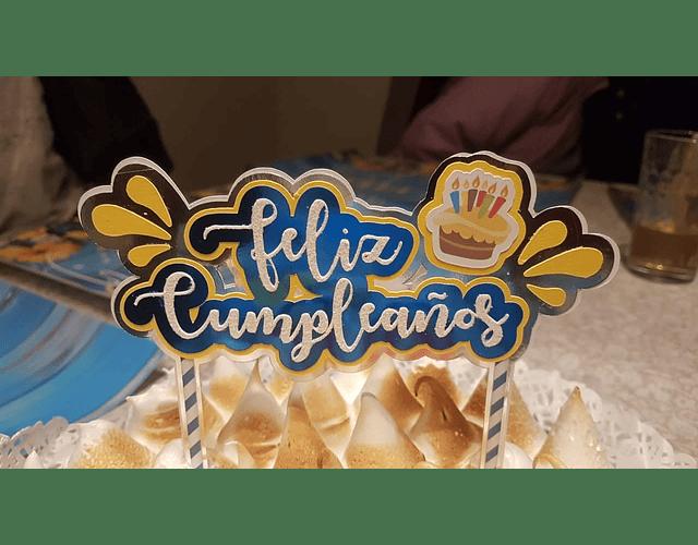 Topper de Torta Infantil