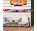 Banderines Fiestas Patrias