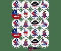Stickers Dieciocheros