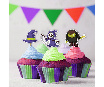 Mini Toppers Halloween