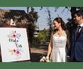 Pizarra Personalizada para Matrimonios