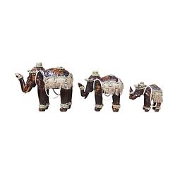 Elefante café sisal