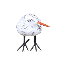 Pareja de pollos patas de alambre