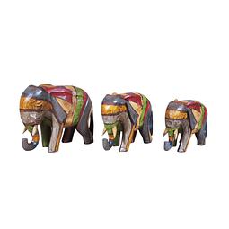 Elefante rayado